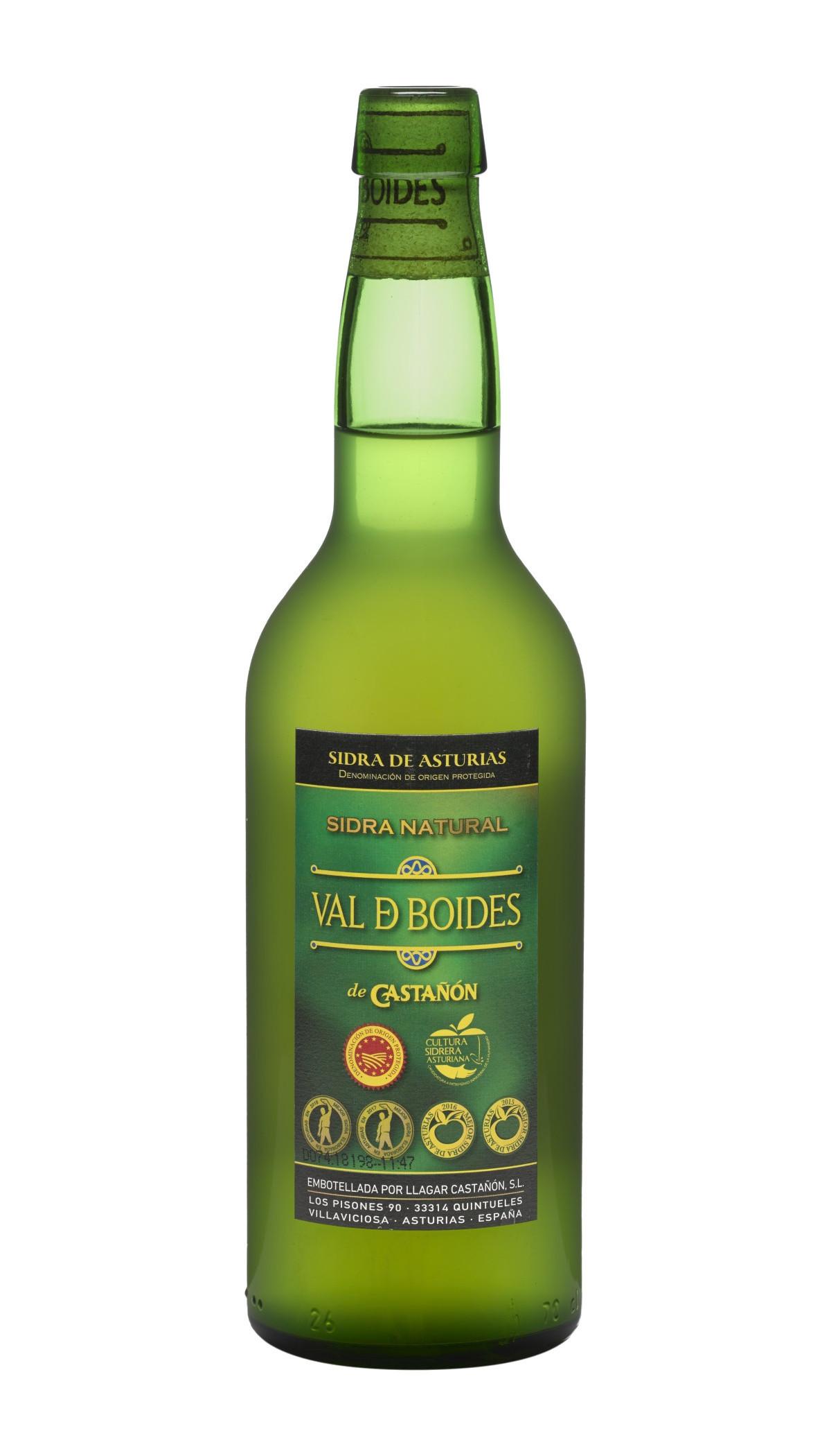 Botella de Sidra Natural Val de Boides