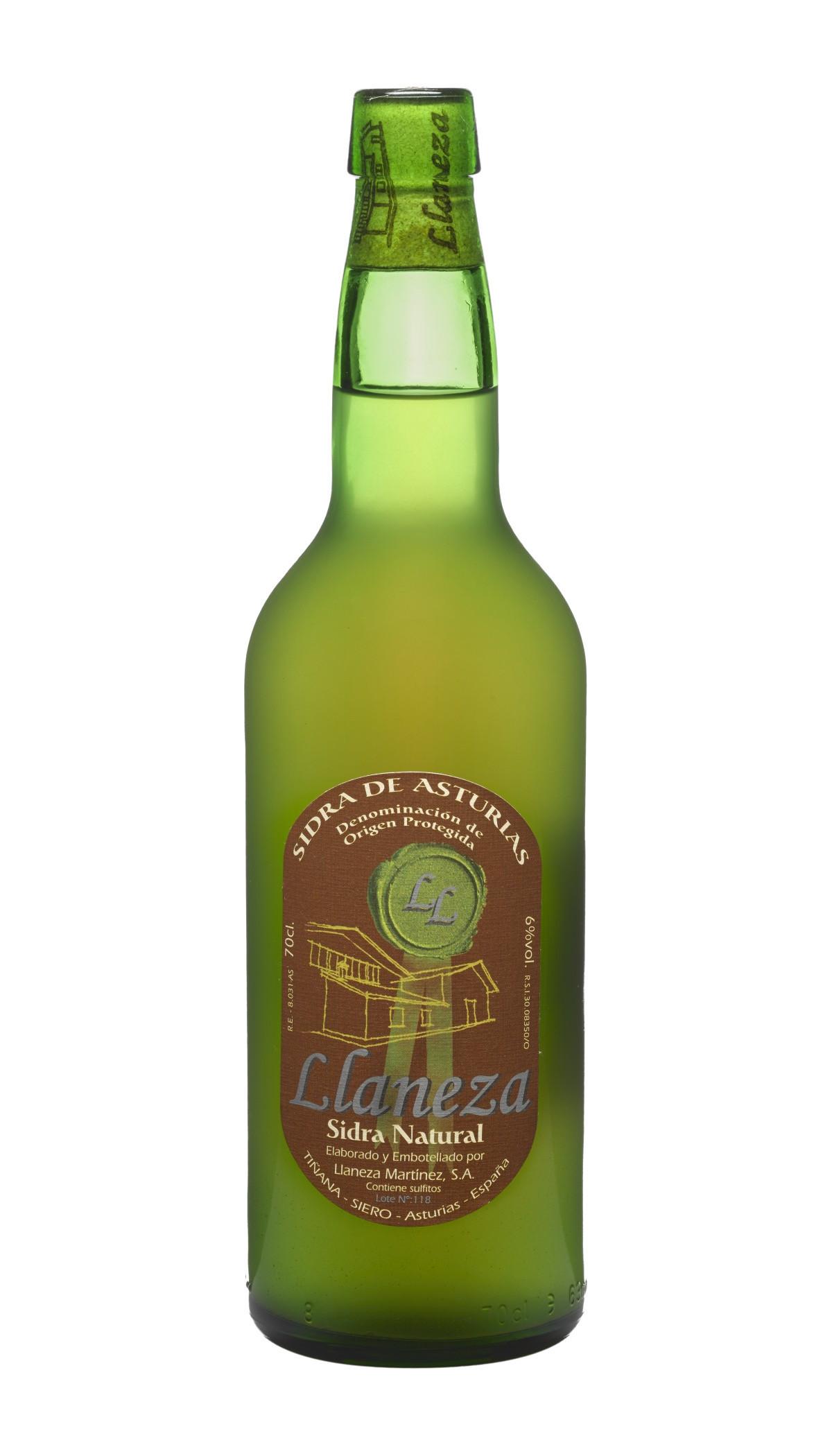 Botella de Sidra Natural Llaneza
