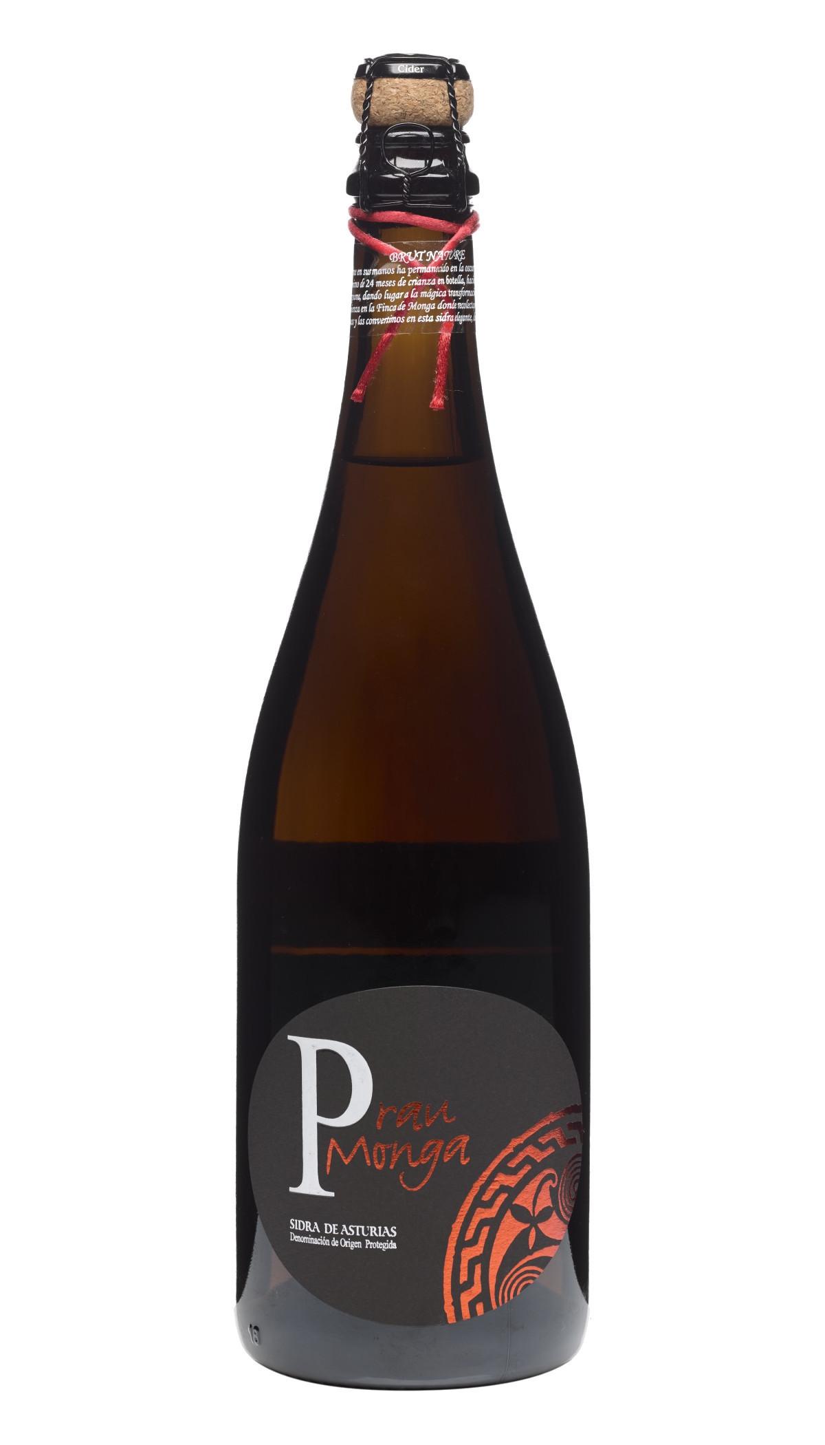Botella de Sidra Espumosa Prau Monga