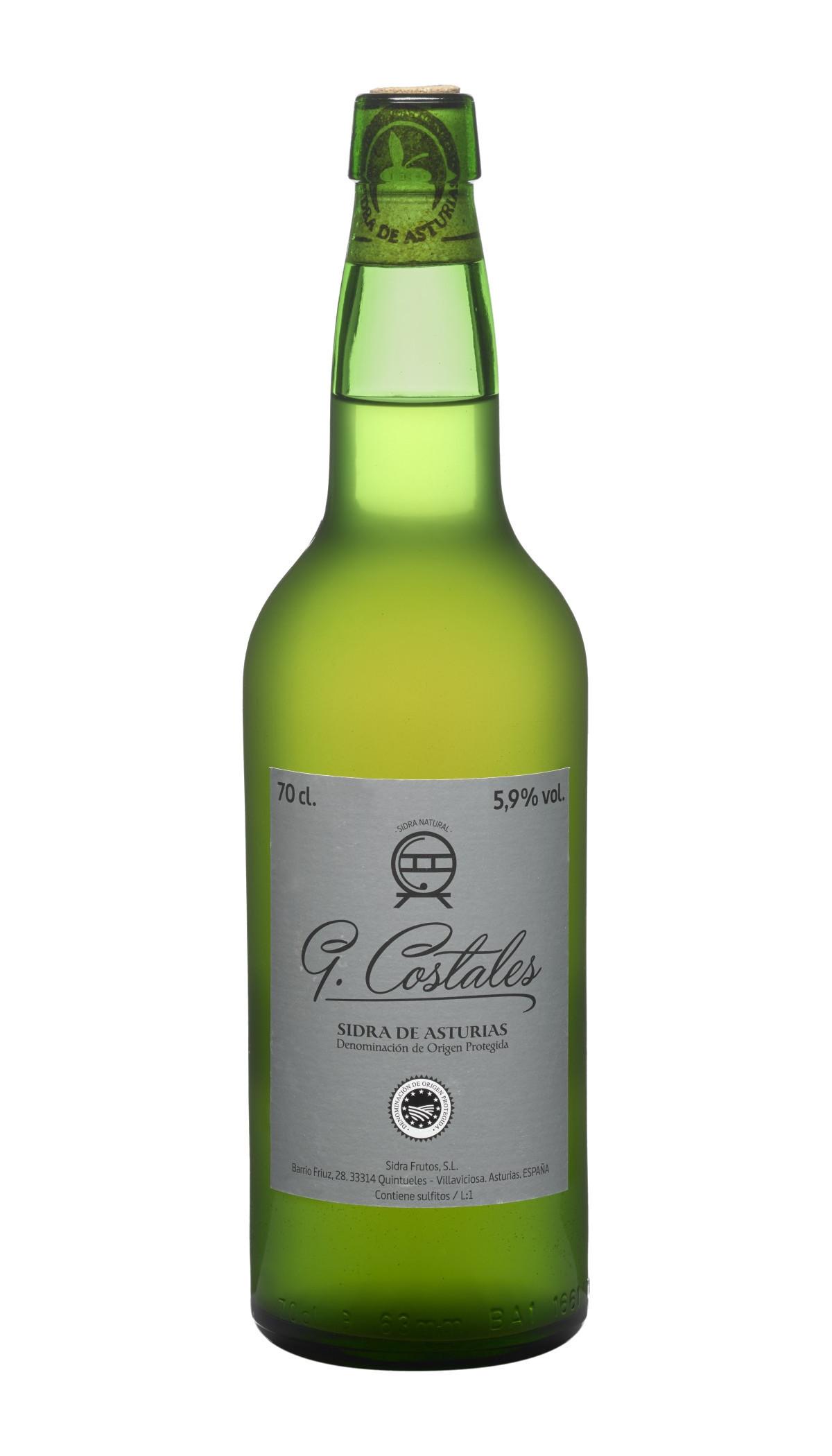 Botella de Sidra Natural G. Costales