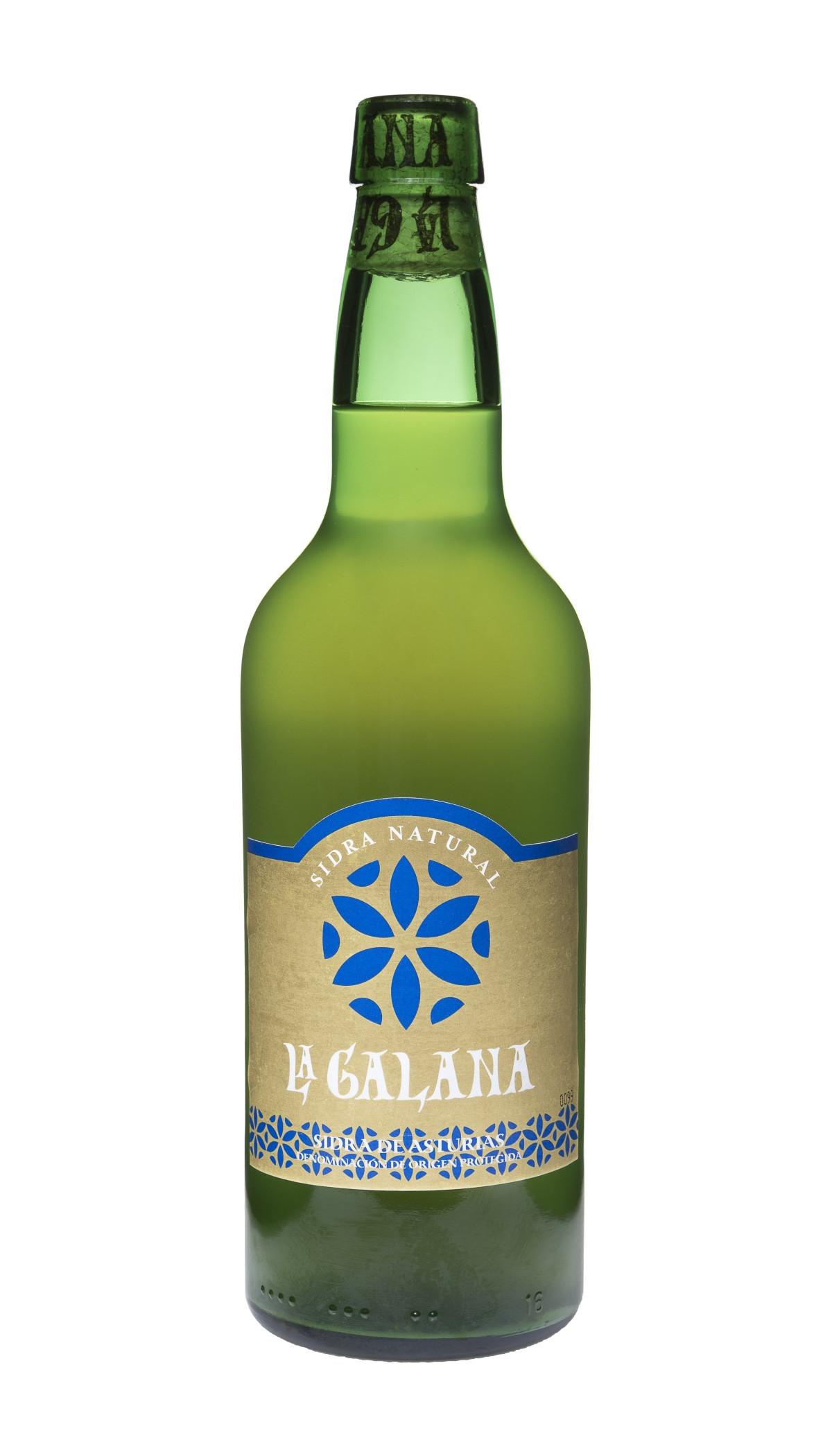 Botella de Sidra Natural La Galana