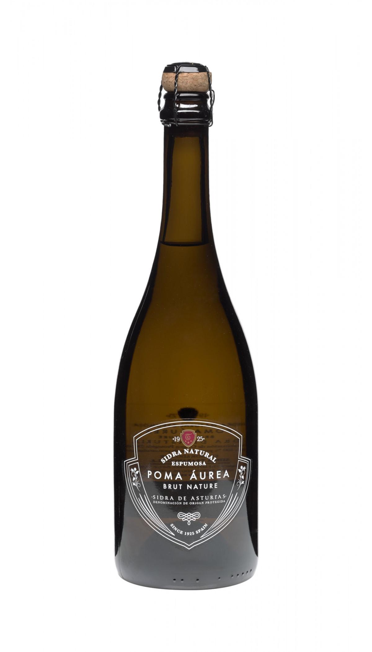 Botella de Sidra Espumosa Poma Áurea
